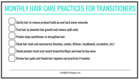 Monthly Hair Care Practices_Checklist