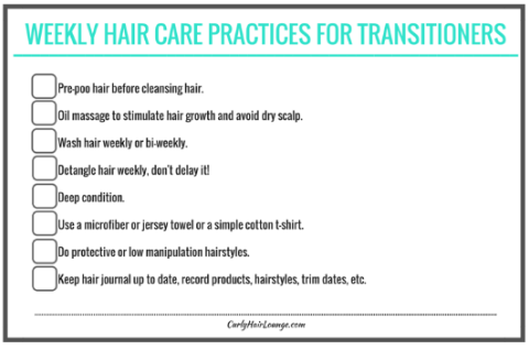 Weekly Hair Care Practices_Checklist