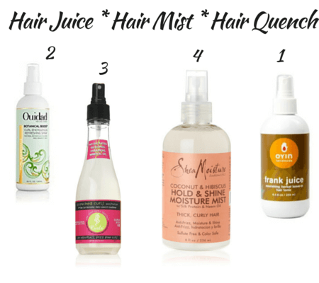 natural hair products explained