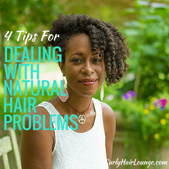 4 Tips For Dealing With Natural Hair Problems