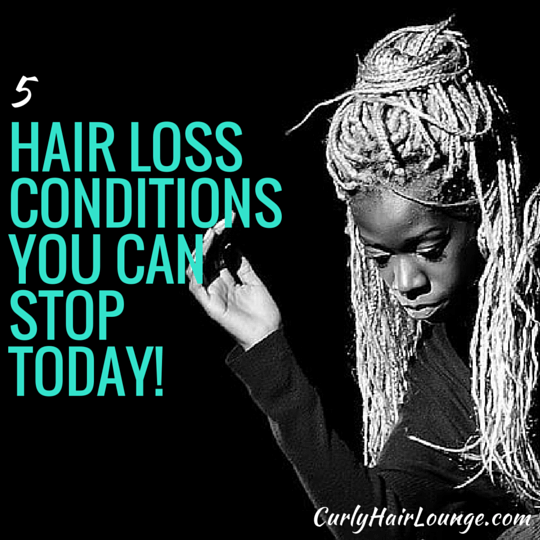 5 Hair Loss Conditions You Can Stop Today