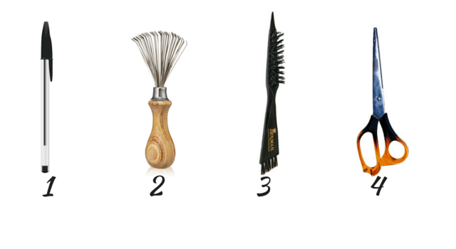 Hairbrush cleaning tools