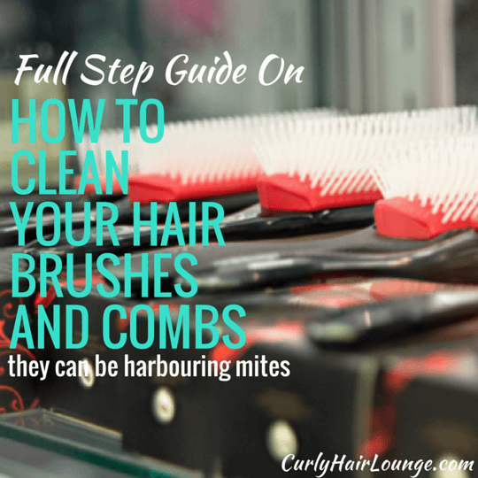 How To Clean Your Hair Brushes And Combs