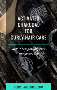 Activated Charcoal For Curly Hair Care