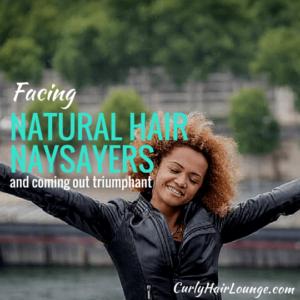 Facing Natural Hair Naysayers