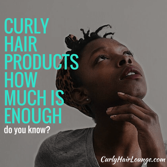 Natural Curly Hair Products How Much