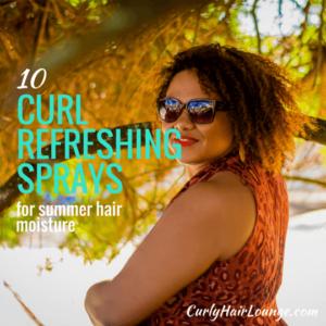 10 Curl Refreshing Sprays