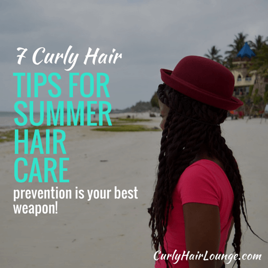 7 Curly Hair Tips For Summer Hair Care