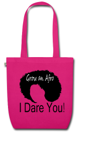 EarthPositive Tote Bag Grow an Afro_I Dare You