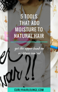 5 tools that add moisture to natural hair