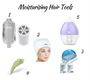 tools for moisturising natural hair