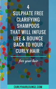 4 Sulphate Free Clarifying Shampoos That Will Infuse Life And Bounce Back To Your Curly Hair