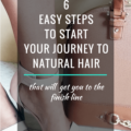 6 Easy Steps To Start Your Journey To Natural Hair