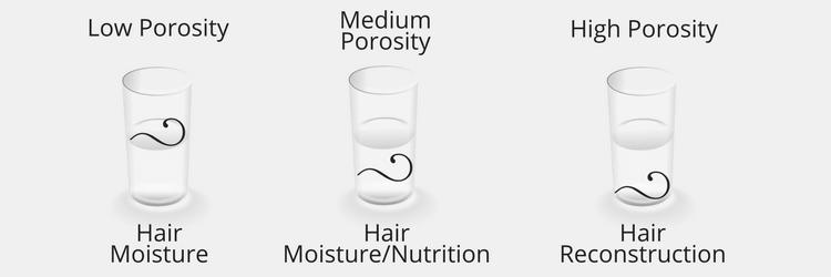 Porosity Test Results & Hair Main Needs
