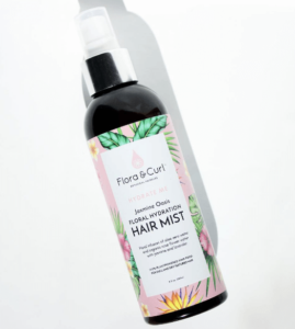 Flora and Curl Floral Hydration Hair Mist Natural Hair Care Product Review