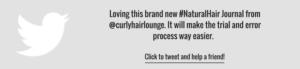 Curly Hair Lounge Natural Hair Journal
