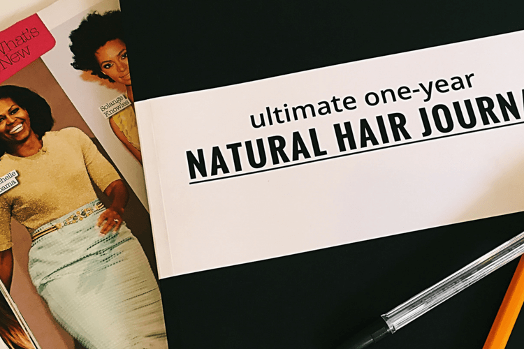 Curly Hair Lounge Ultimate One Year Natural Hair Journal