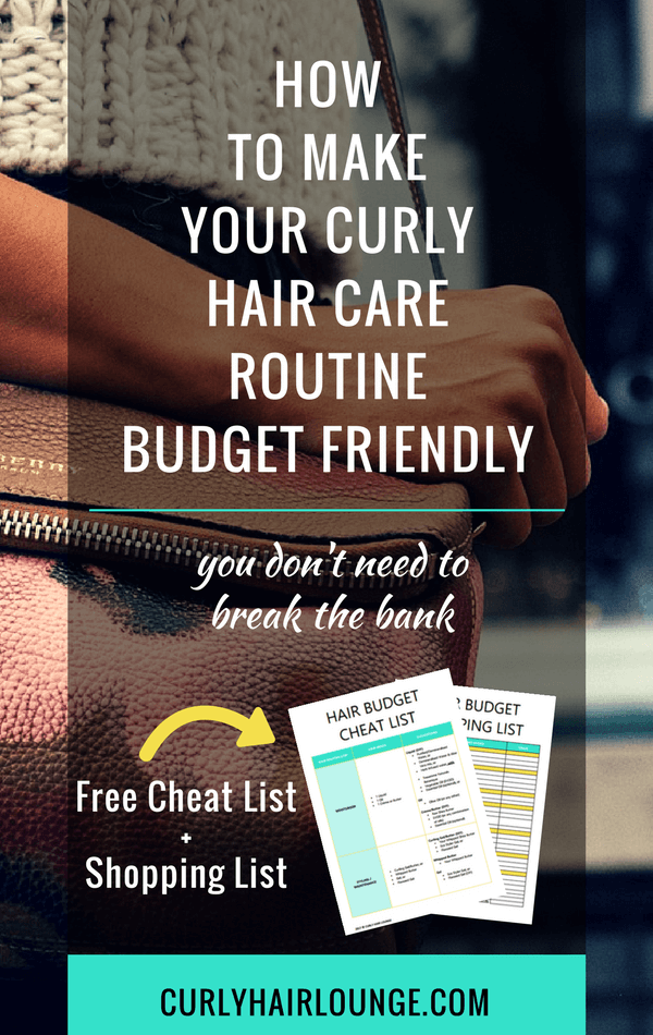 How To Make Your Curly Hair Care Routine Budget Friendly