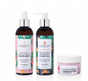 Flora & Curl Complete Moisture Kit