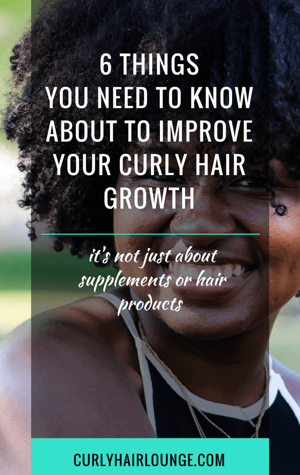 6 Things You Need To Know About To Improve Your Curly Hair Growth