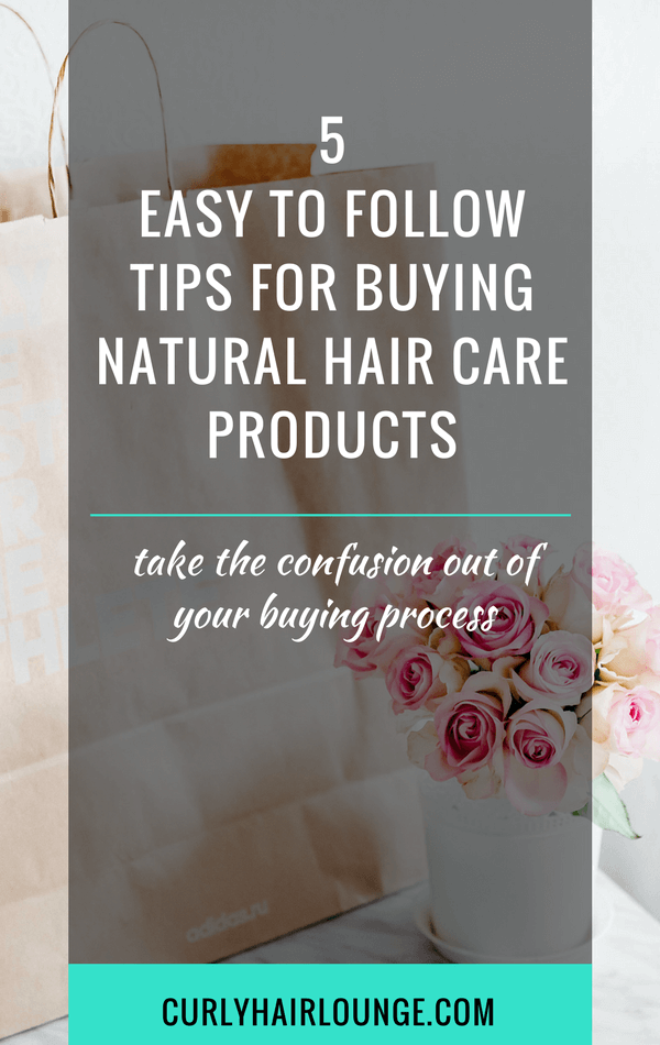 5 Easy To Follow Tips For Buying Natural Hair Care Products