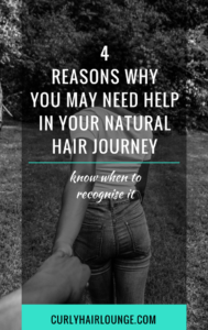 4 Reasons Why You Need Help In Your Natural Hair Journey