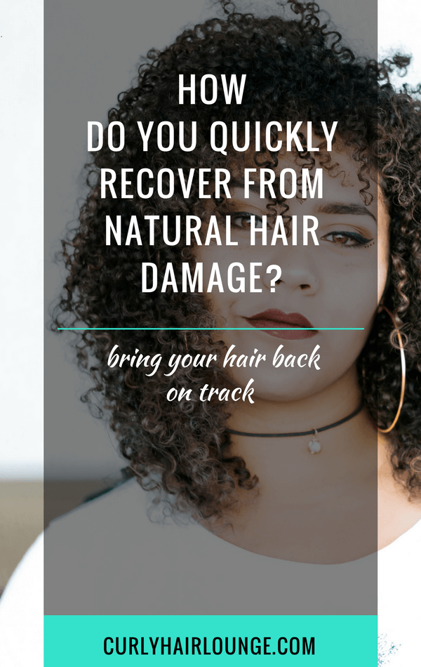 How Do You Quickly Recover From Natural Hair Damage