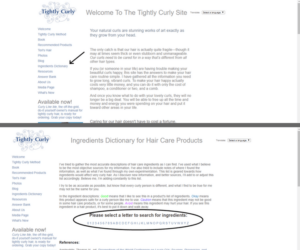 Cosmetic Ingredient Dictionary_TightlyCurly1