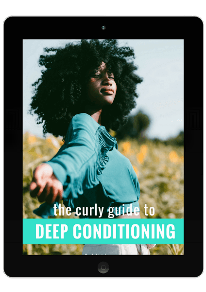 The Curly Guide To Deep Conditioning (iPad)