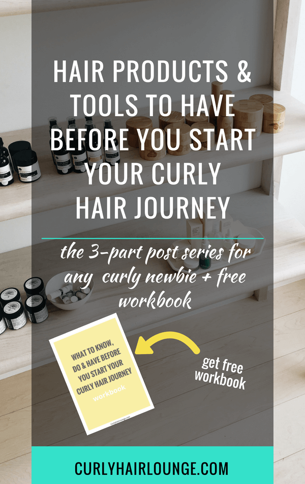 Hair Products and Tools To Have Before You Start Your Curly Hair Journey