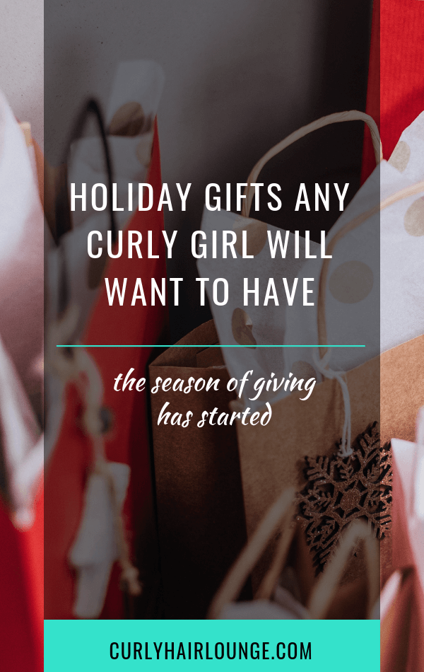 Holiday Gifts Any Curly Girl Will Want To Have