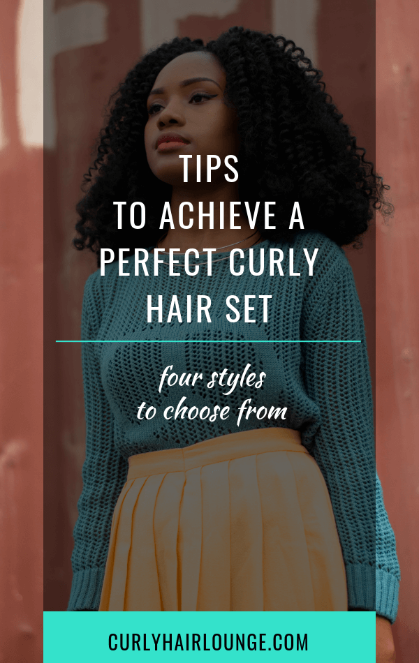 Tips To Achieve A Perfect Curly Hair Set
