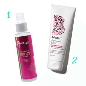 Summer Hair Care Heat Protectants